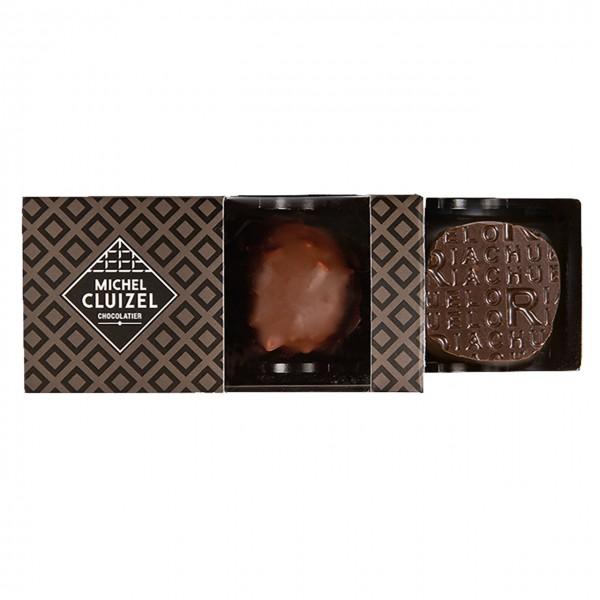 Cluizel - Coffret Noir & Lait 2 Pralinen