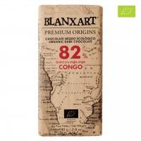Blanxart - Dunkle Bio-Schokolade mit 82% Kakao aus dem Kongo