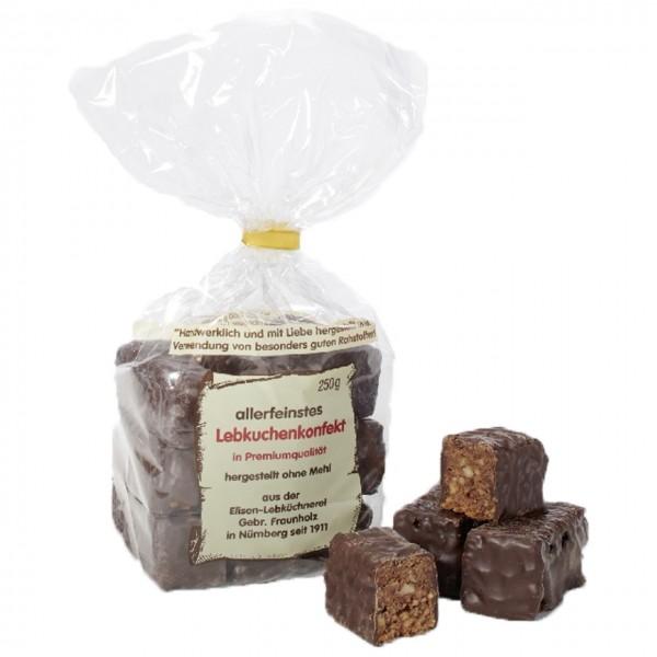Frauenholz - Elisenlebkuchenkonfekt mit dunkler Schokolade