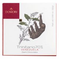Domori - Dunkle Trinitario-Tafel aus Venezuela