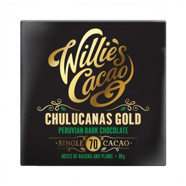 Willie`s Cacao - Chulcanas Gold - Peruanische Dunkle Ursprungsschokolade