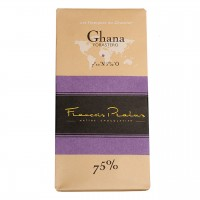 François Pralus - Dunkle Schokolade 75% Forastero-Kakao aus Ghana