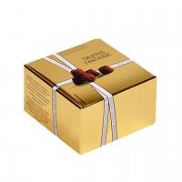 Mathez - Schokoladen-Trüffel Fantasie Pur in einer kleinen Goldbox 50g