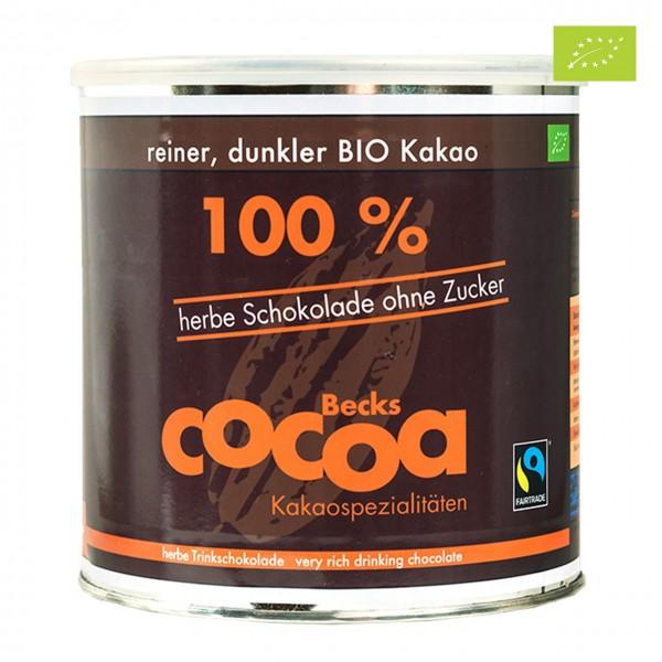 Becks Cocoa 100% Criollo-Kakaopulver Gastrodose