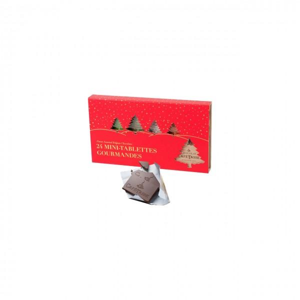 """Café-Tasse - Entdeckerbox """"Weihnachten"""" mit belgischer Schokolade"""