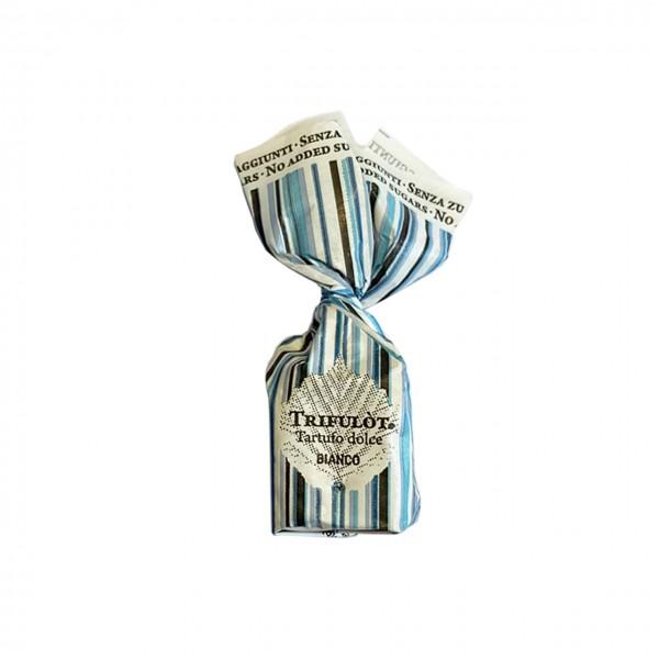 Tartuf Langhe - Weißer Schokoladentrüffel zuckerfrei