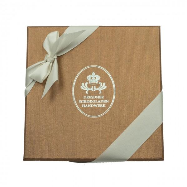 Dresdner Schokoladenhandwerk – Handgemachte Pralinen – 20er Geschenkpackung