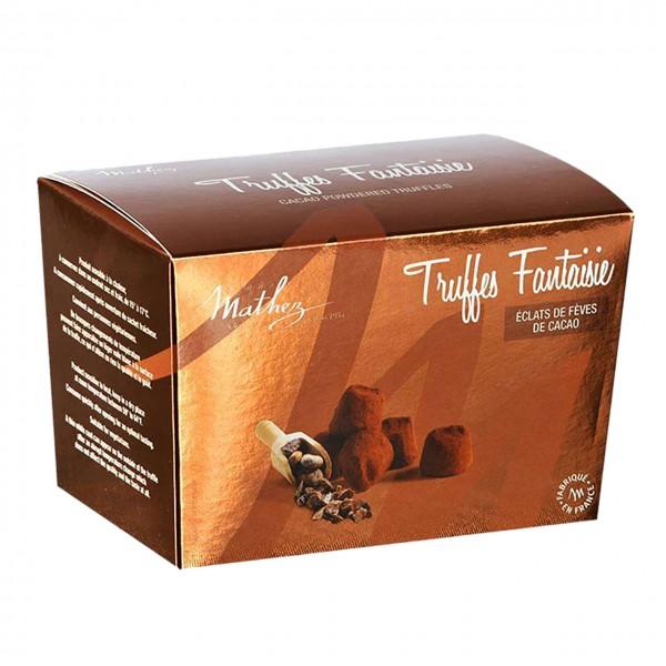 Mathez - Truffes Fantaisie éclats de Féves de Cacao