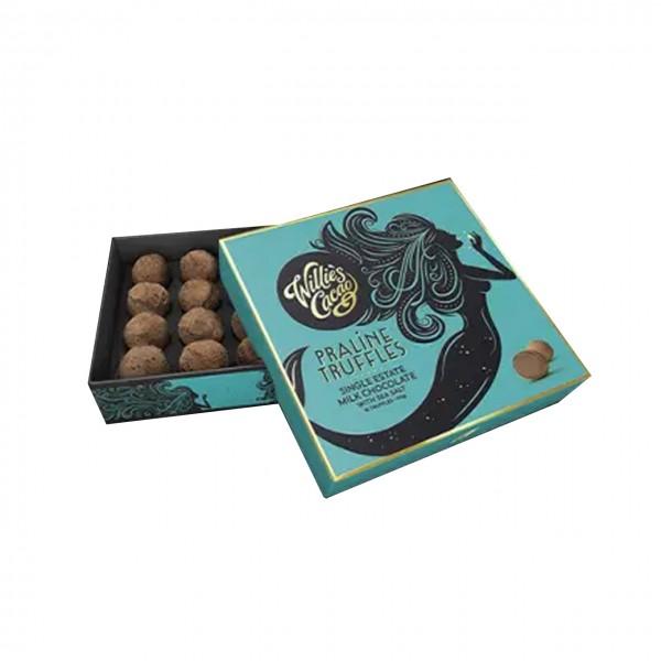 Willie`s Cacao - Schokoladentrüffel mit Meersalz 110g-Dose