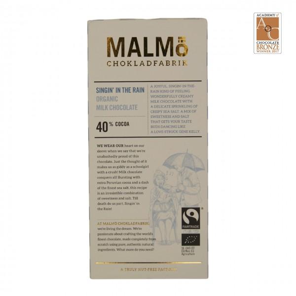 "Malmö - ""Singin in the rain"" Vollmilchschokolade 40%"