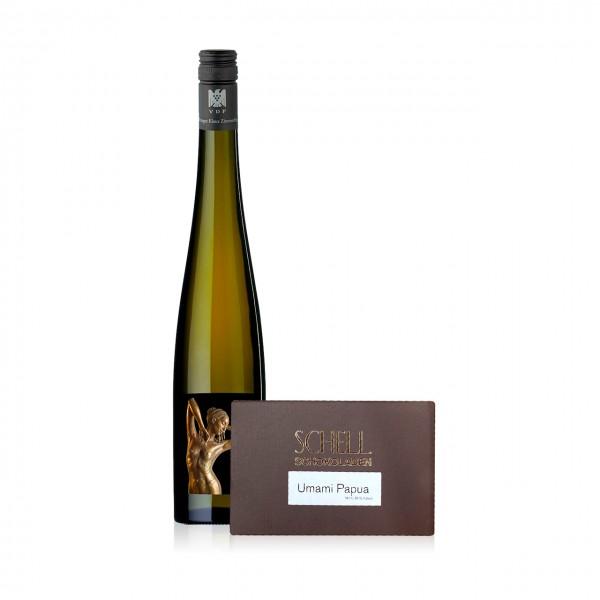 CAMONDAS - Schokolade & Wein: Riesling R 2018 und Umami Papua