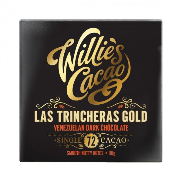 Willie`s Cacao - Las Trincheras Gold - Venezulanische Dunkle Ursprungsschokolade