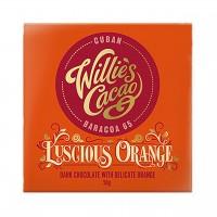 Willie`s Cacao - Dunkle Schokolade mit Orangenöl