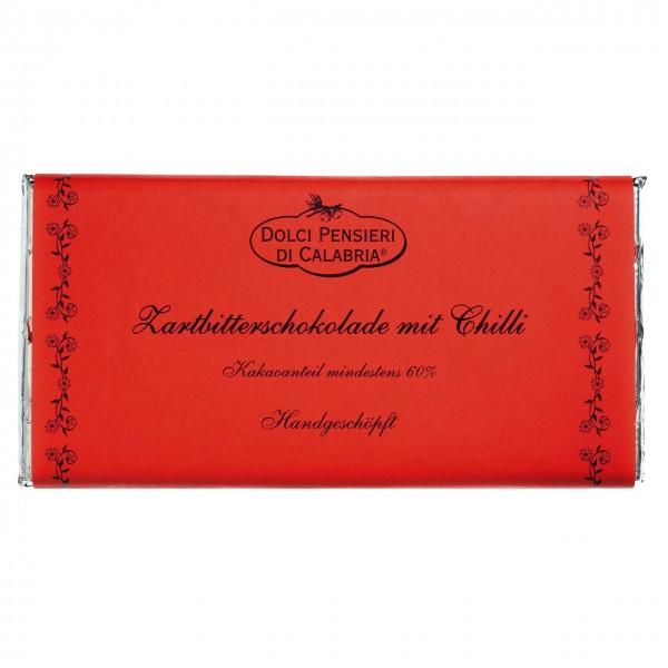 Dolci Pensieri - Handgeschöpfte dunkle Schokolade mit Chili