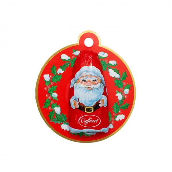 Caffarel - Weihnachtsmann-Anhänger